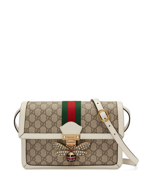 3b1b22790470 Gucci Queen Margaret Medium GG Supreme Shoulder Bag