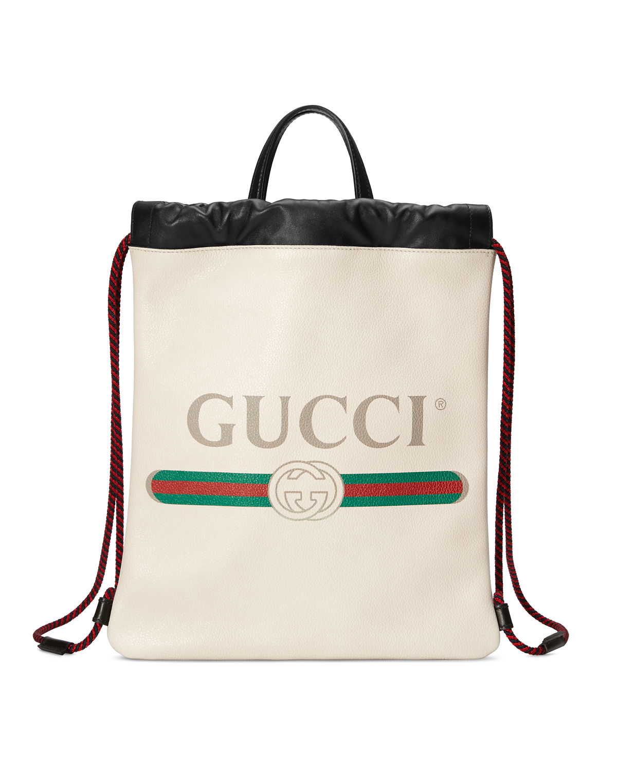 3b7371408c83 Gucci Gucci-Print Small Drawstring Backpack