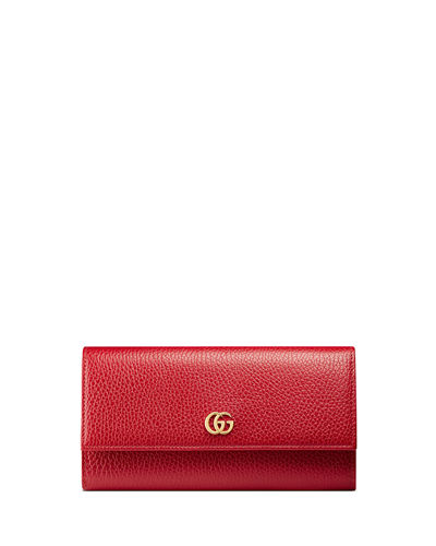 acadd0ad0cf3 Quick Look. Gucci · Petite Marmont Leather Flap Wallet