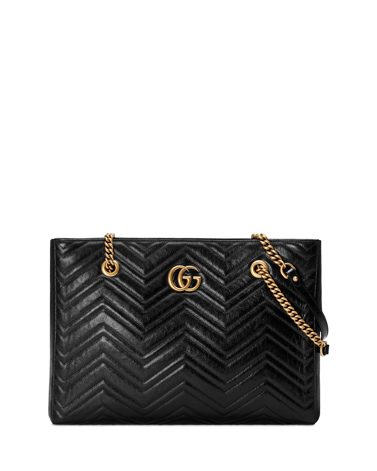 e757af548ec4bf Gucci GG Marmont Medium Quilted Leather Shoulder Tote Bag | Neiman ...