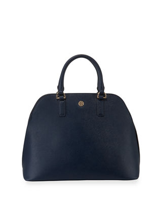 ROBINSON SAFFIANO DOME SATCHEL BAG