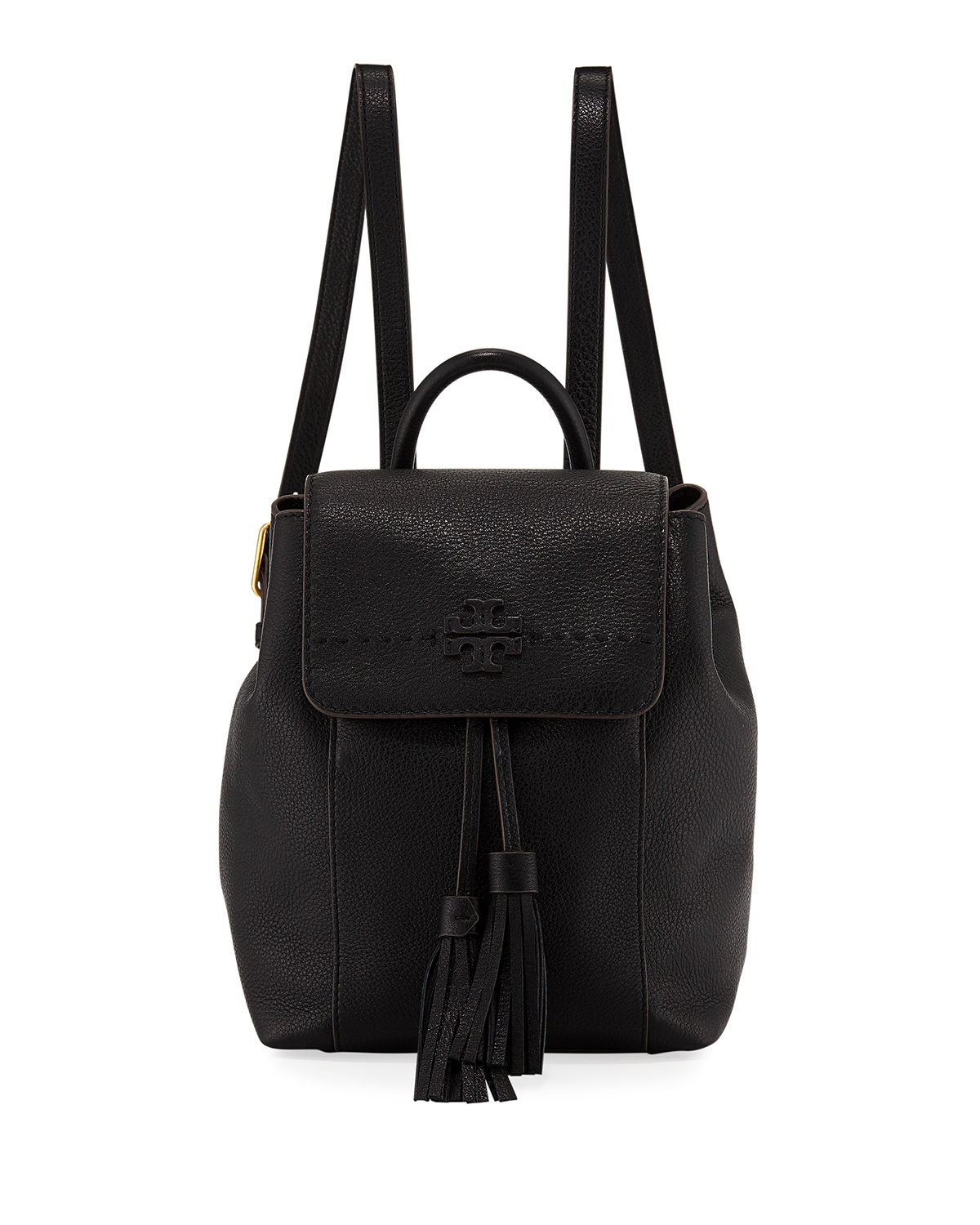 McGraw Pebbled Leather Backpack