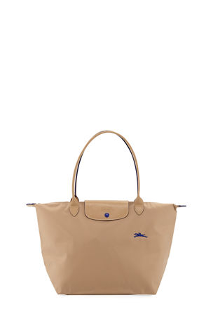 eb17379d782d Longchamp Le Pliage Club Large Nylon Shoulder Tote Bag