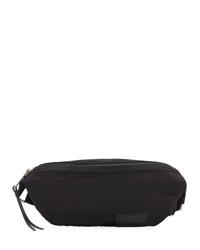 Zip Nylon Belt Bag