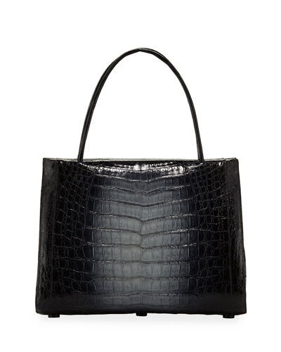 a42bd0a69adf Open Top Crocodile Bag