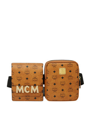 c505e63df5 MCM Stark Double Logo Belt Bag. Favorite. Quick Look