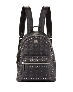 349f63bebe9da4 MCM Stark Outline Studs Convertible Visetos Backpack