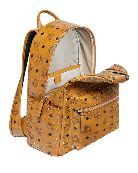 a28ffbd6fb91 MCM Stark Outline Studs Convertible Visetos Backpack | Neiman Marcus