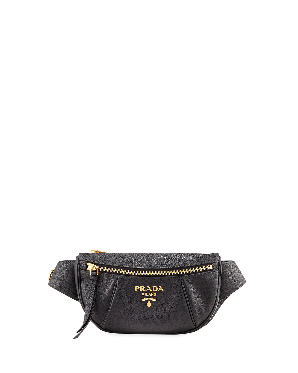 cd46a98c159 Prada Small Daino Leather Belt Bag