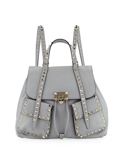 Rockstud Double-Pocket Backpack
