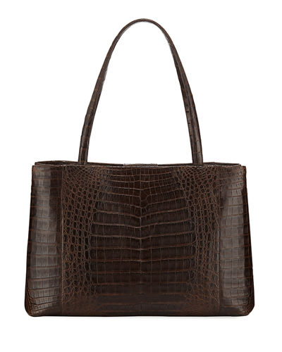 Analise Crocodile Work Tote Bag