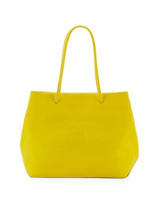 Marc Jacobs East-West Saffiano Leather Tote Bag