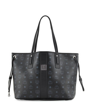 077ad1a62596 MCM Liz Reversible Medium Visetos Tote Bag