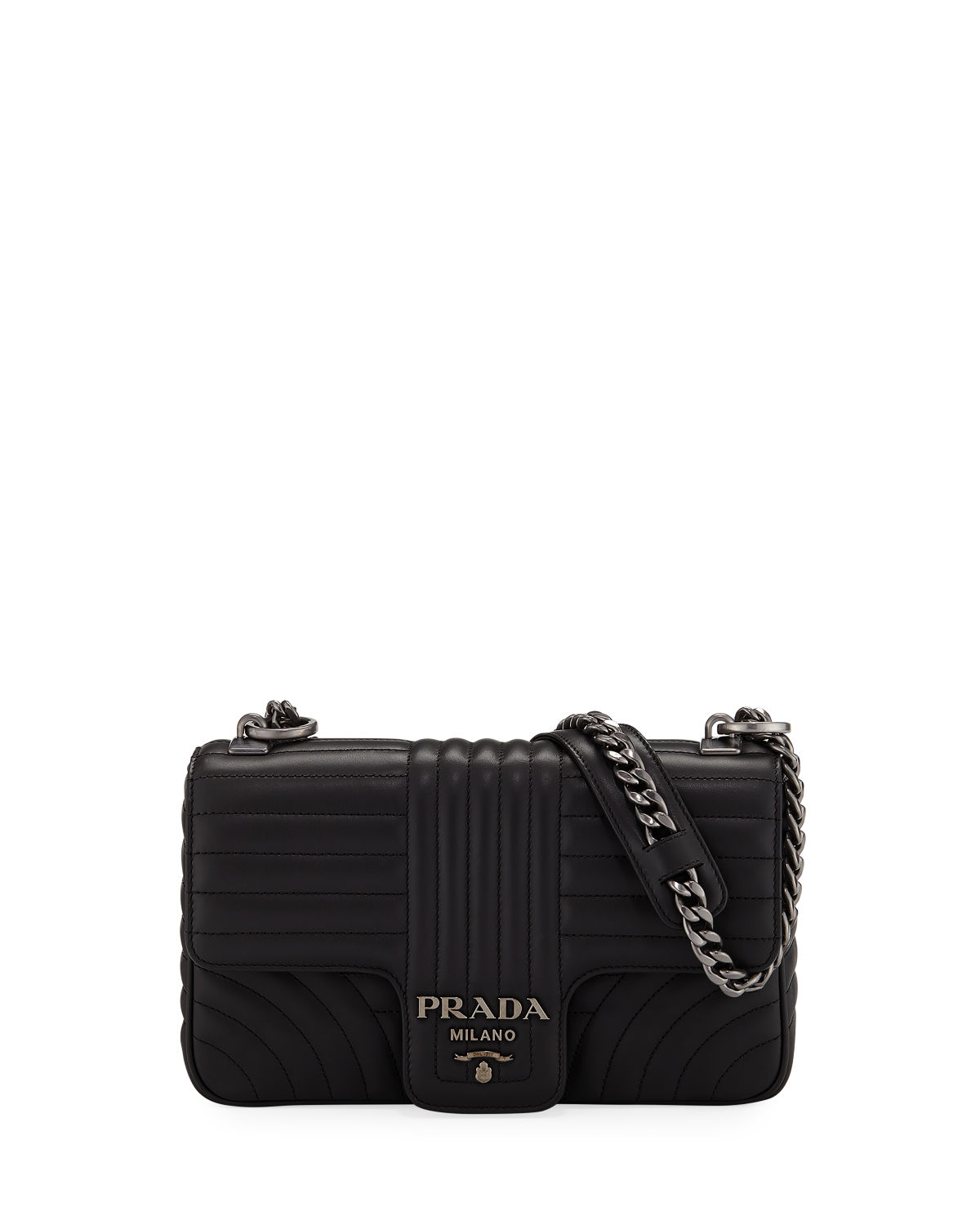 c342ffa55e64 Prada Diagramme Medium Shoulder Bag | Neiman Marcus
