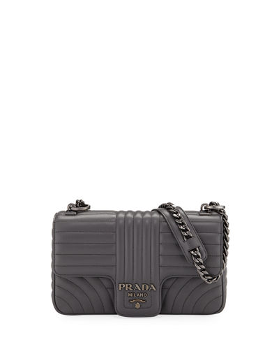 410a61d43f8d4b Quick Look. Prada · Diagramme Medium Shoulder Bag