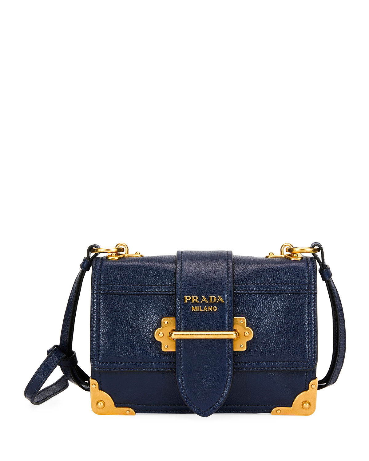 Cahier Glace Calf Medium Shoulder Bag