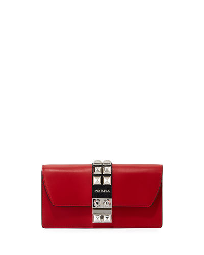 Elektra City Calf Studded Crossbody Bag