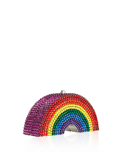 Rainbow-Shaped Crystal Pillbox