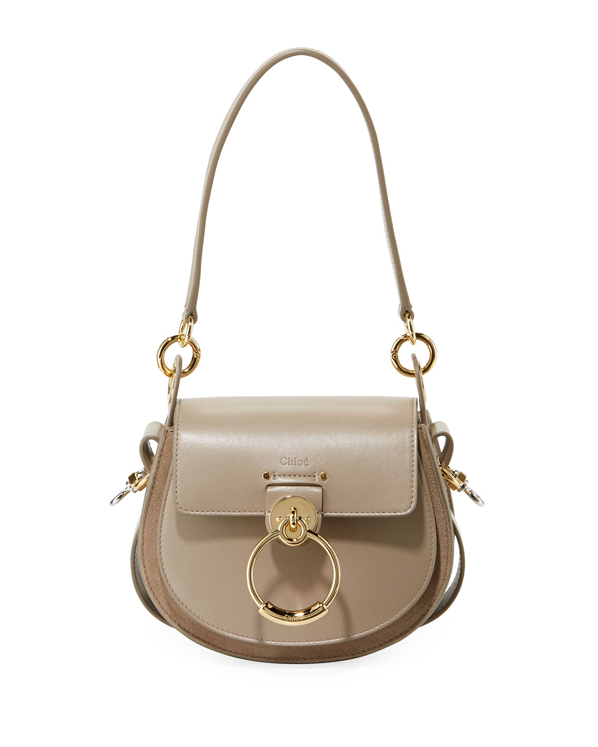 60847ade82a Tess Small Leather/Suede Camera Crossbody Bag