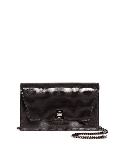 3b098328a27e Quick Look. Akris · Anouk Mini Envelope Lizard Crossbody Bag