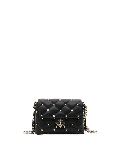 Candystud Medium Leather Shoulder Bag