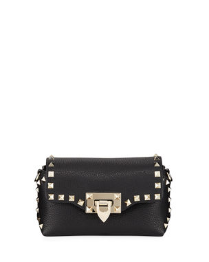 d5b90c39038 Valentino Garavani Rockstud Mini Leather Crossbody Bag