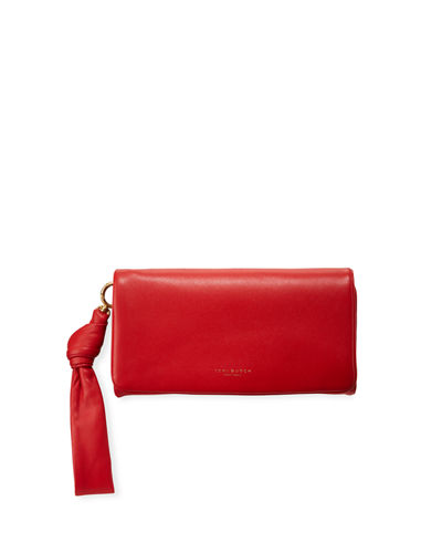 Beau Napa Leather Wristlet Wallet