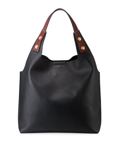 Rory Smooth Leather Tote Bag