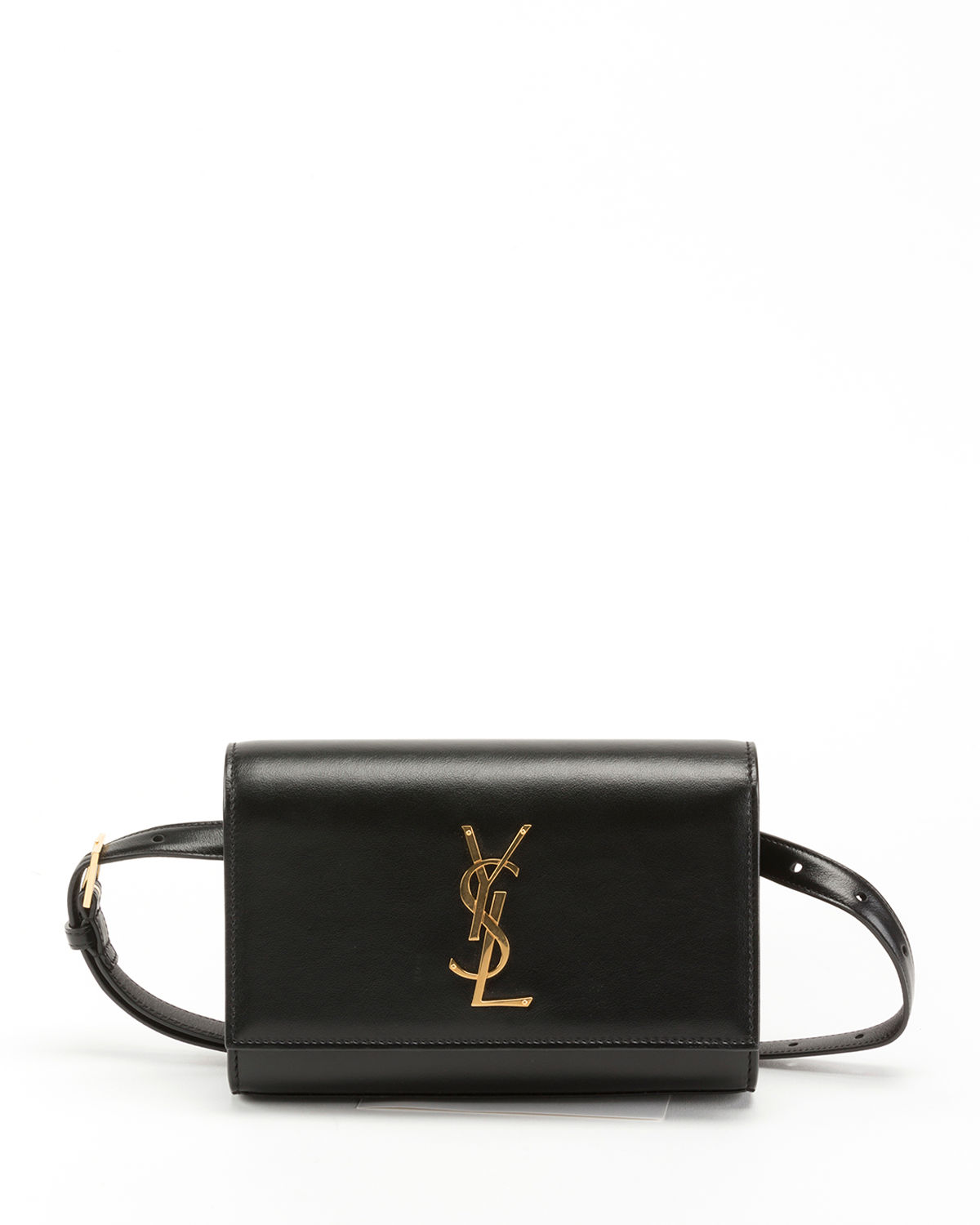 a9976f35da6 Saint Laurent Kate Monogram YSL Leather Belt Bag   Neiman Marcus
