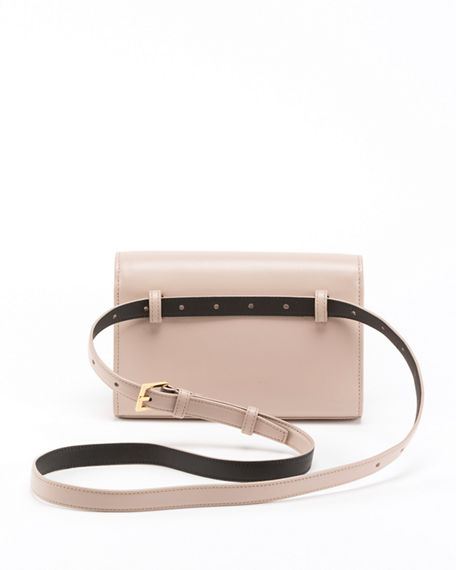 Saint Laurent Kate Monogram Ysl Leather Belt Bag Neiman