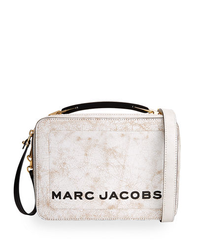 The Box Distressed Crossbody Bag