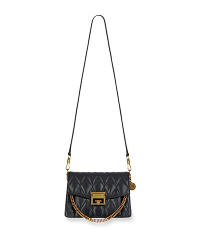 Quick Look. Givenchy · GV3 Small Quilted Leather Crossbody Bag 26c2743fb3