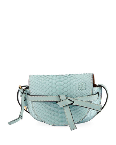 Gate Mini Python Shoulder Bag
