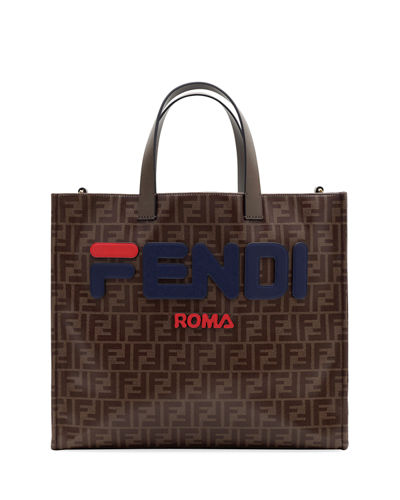0f2fc3f9e8e4 Quick Look. Fendi · Fendi Runway Collection Regular Calf and Canvas Tote Bag
