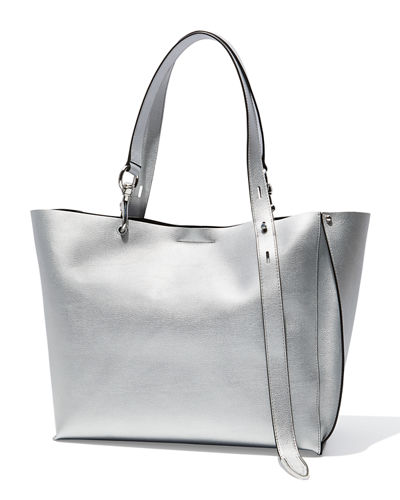 Stella Large Metallic Tote Bag