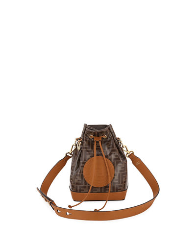 1974 Mon Tresor Grande Fabric Bucket Bag