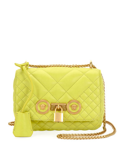 96ccba89185a Quick Look. Versace · Icon Small Quilted Napa Crossbody Bag