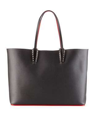 9d0392a56504 Christian Louboutin Cabata East-West Leather Tote Bag