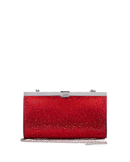 Christian Louboutin Palmette Small Clutch Bag