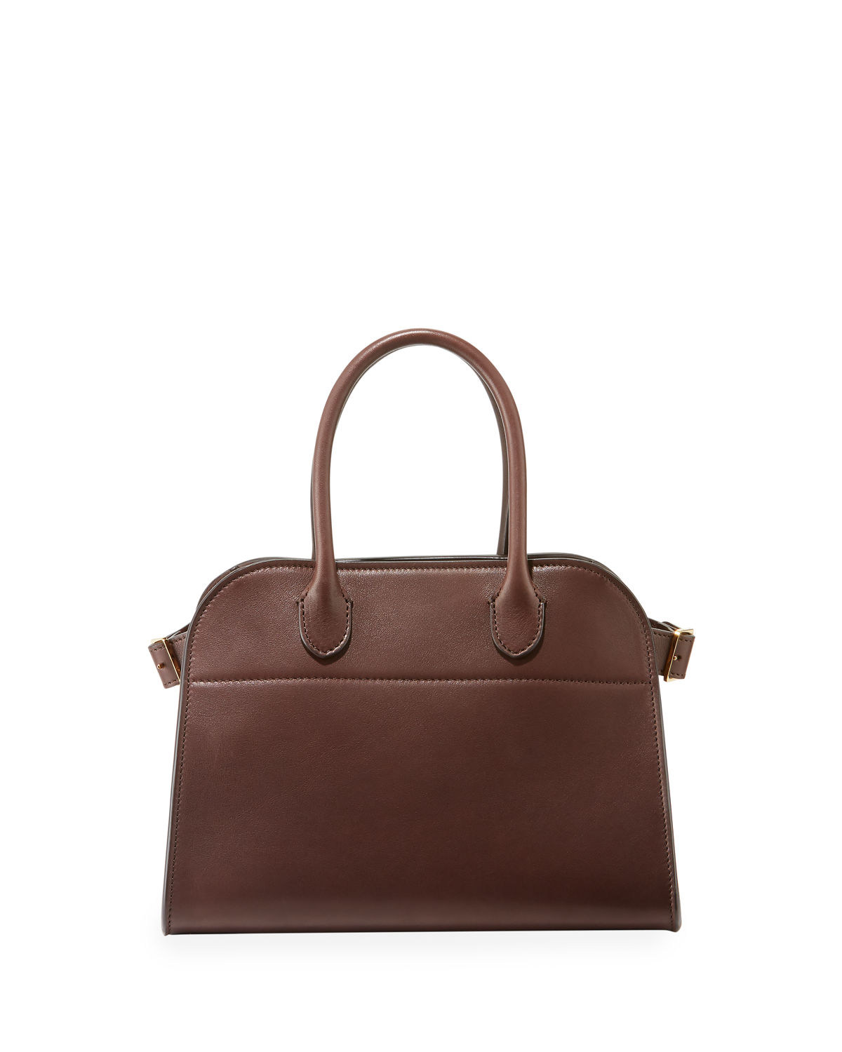 e8eed832beb3 THE ROW Margaux 10 Smooth Calfskin Top Handle Bag