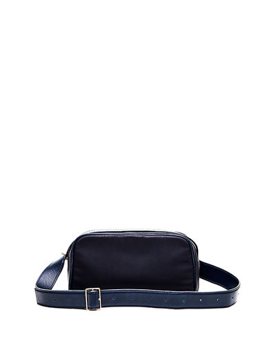 Puffy Nylon Convertible Fanny Pack Bag