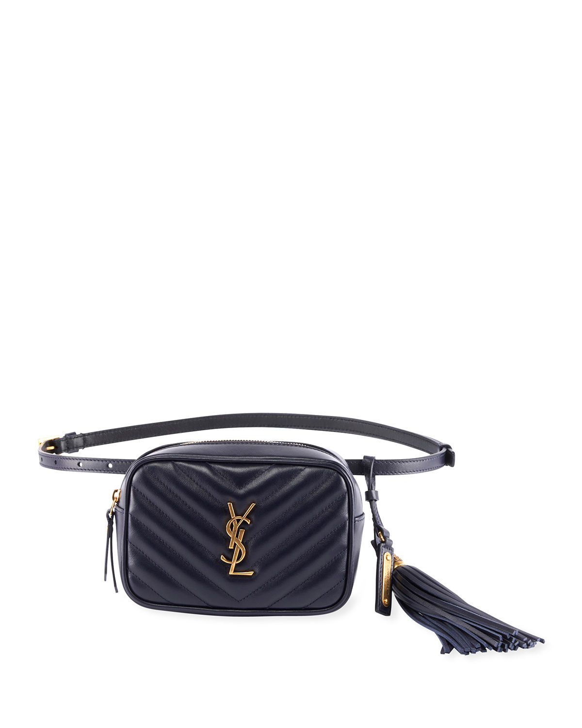 Saint Laurent Lou Monogram Ysl Quilted Leather Belt Bag