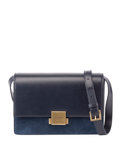 Bellechasse Medium Leather/Suede Satchel Bag