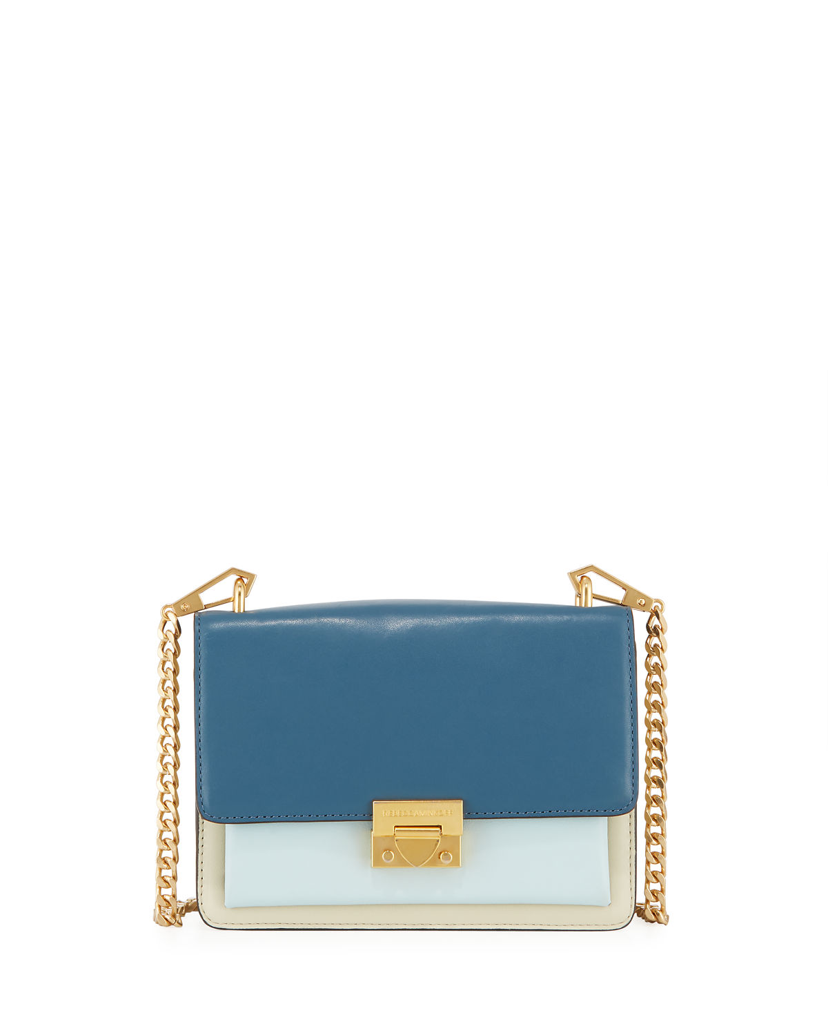 Christy Small Colorblock Shoulder Bag