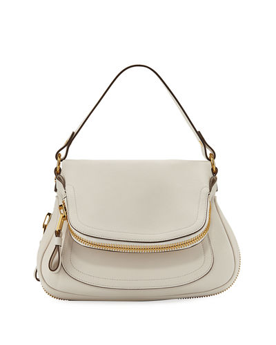 Tom Ford Jennifer Medium Grained Leather Shoulder Bag