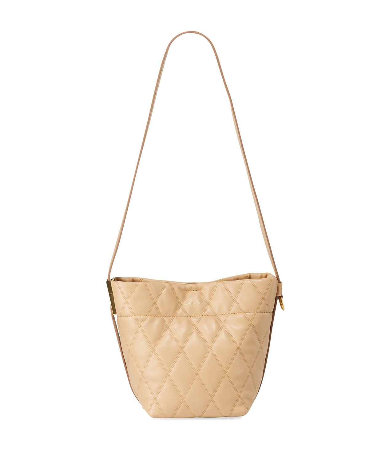 d725c72a8ee8 Givenchy GV Quilted Mini Bucket Bag