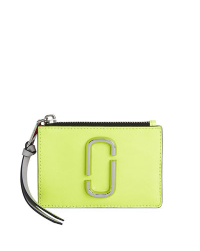 Marc Jacobs Colorblock Zip Card Wallet