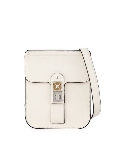 PS11 Smooth Leather Box Crossbody Bag