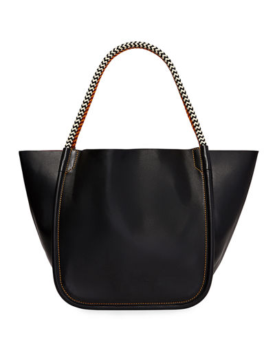 Large Super Lux Calf Leather Tote Bag