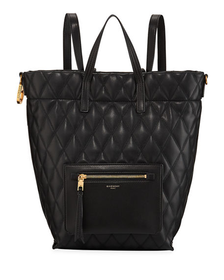 9ad138e11c28ef Givenchy Small Duo Quilted Backpack | Neiman Marcus